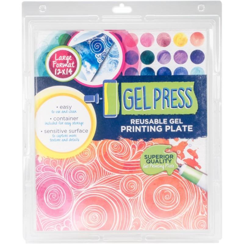 "Gel Press 12""x14"" (30x35 cm)"