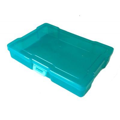 Boîte de rangement 17x11.6 cm - Turquoise