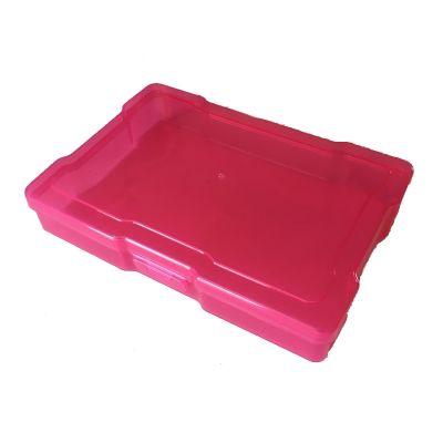 Boîte de rangement 17x11.6 cm - Rose Framboise
