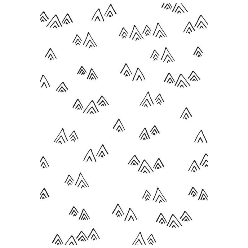 Pochoir de gaufrage KaiserCraft - Mountains