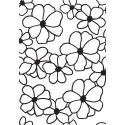 Pochoir de gaufrage KaiserCraft - Flowers