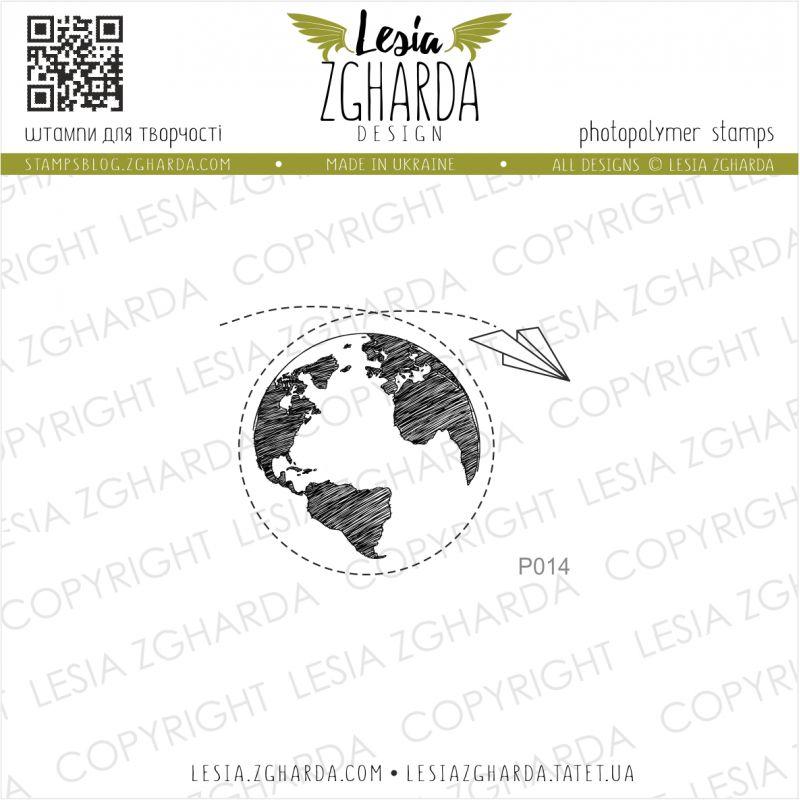 Tampon transparent Lesia Zgharda - Around The Word