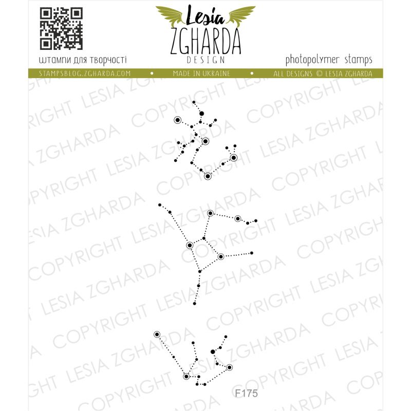 Tampon transparent Lesia Zgharda - Constellations