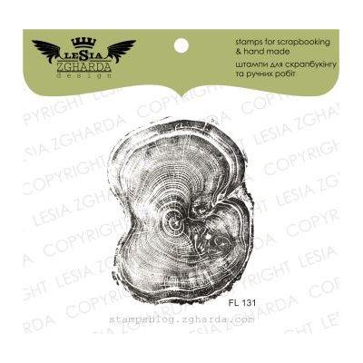 Tampon transparent Lesia Zgharda - The cut wood (smaller)