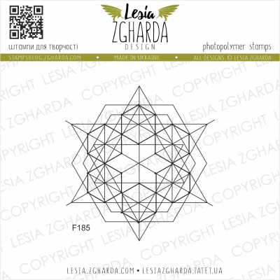 Tampon transparent Lesia Zgharda - Geometry