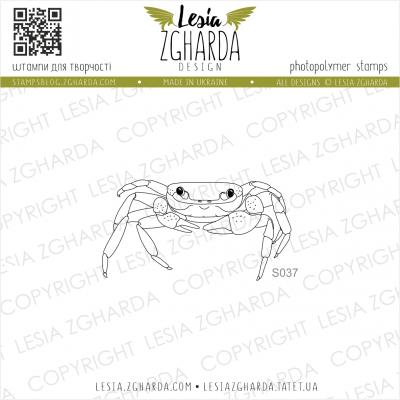 Tampon transparent Lesia Zgharda - Crab Hermit