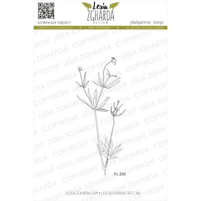 Tampons transparent Lesia Zgharda - Buttercup