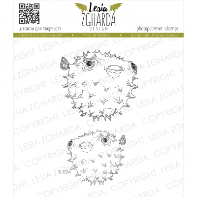 Tampons transparent Lesia Zgharda - Fugu Fishes