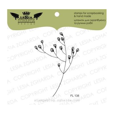 Tampons transparent Lesia Zgharda - Grass with Flowers