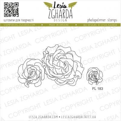 Tampons transparent Lesia Zgharda - Sweet Roses