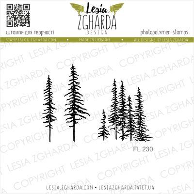 Tampon transparent Lesia Zgharda - Carpathian Pines