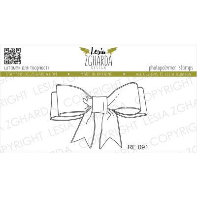 Tampon transparent Lesia Zgharda - Bow