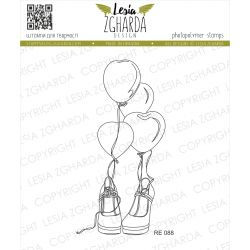 Tampon transparent Lesia Zgharda - Shoes and Balloons