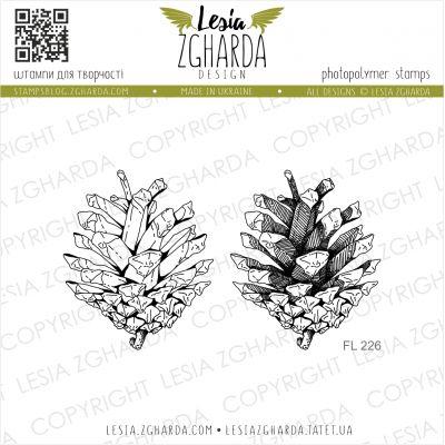 Tampons transparent Lesia Zgharda - Pinecone