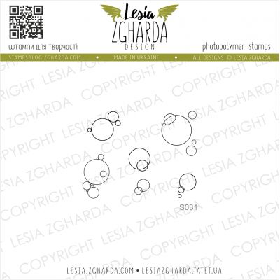 Tampons transparent Lesia Zgharda - Bubbles
