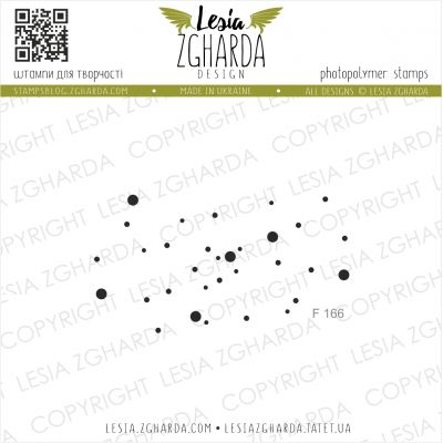 Tampons transparent Lesia Zgharda - Twinkling Stars
