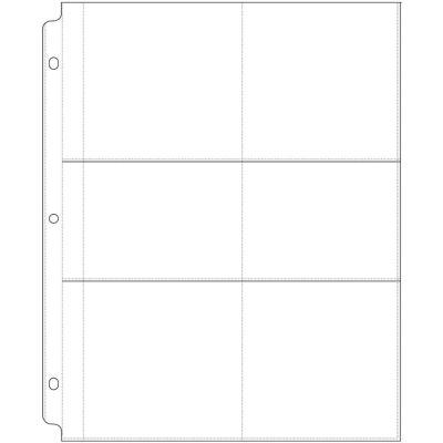 Pochettes A4 US - 6 compartiments (10)