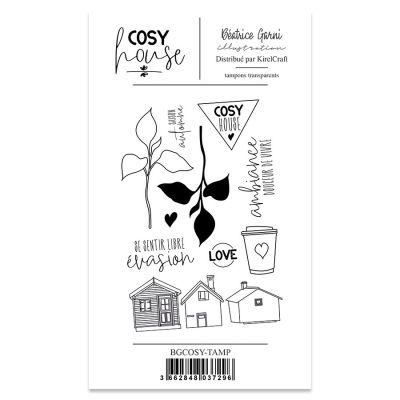 Tampons Béatrice Garni Illustration - Cosy House