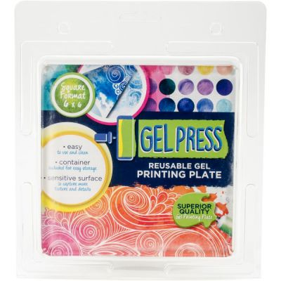 "Gel Press 6""x6"" (15x15 cm)"