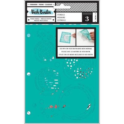 Pochoirs Vicky Boutin - Ink Spill