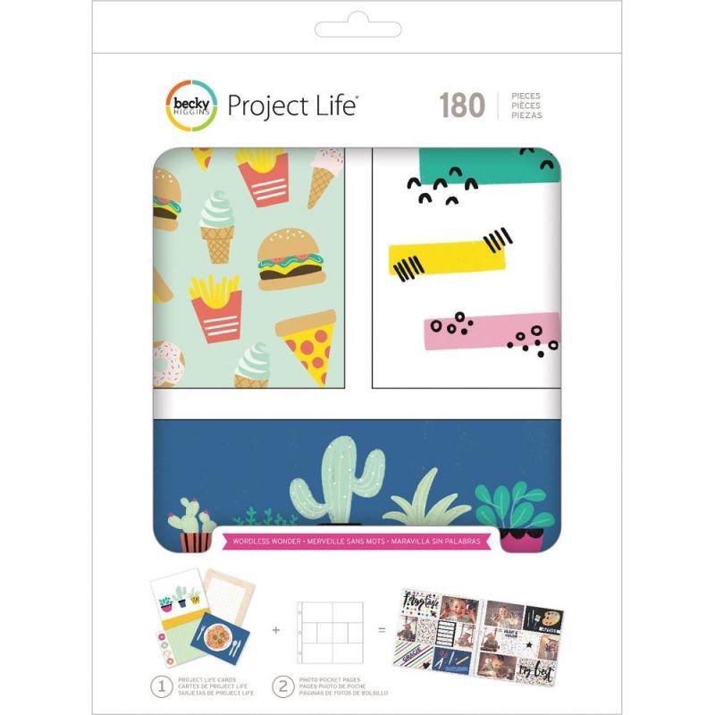 Kit Cartes Project Life - Wordless Wonder