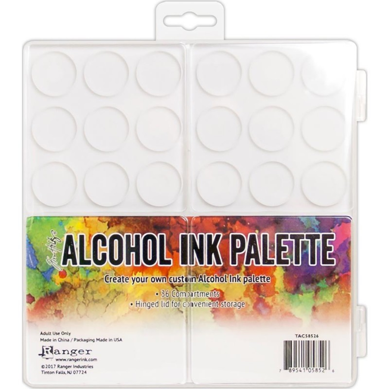 Palette pour encres à alcool