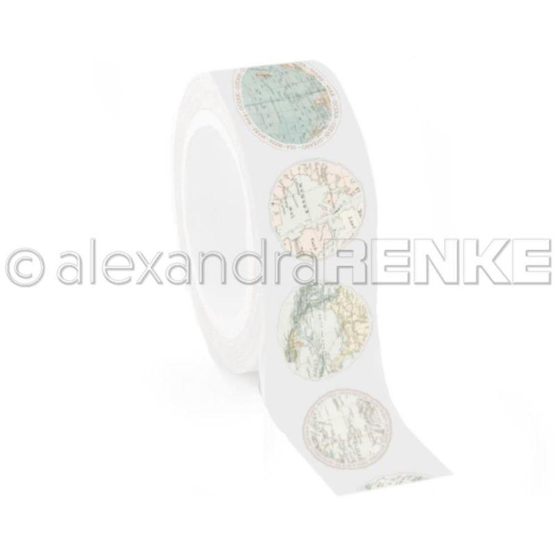 Washi Tape Alexandra Renke - Globes
