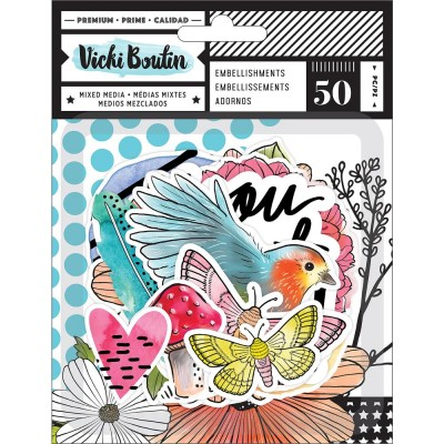 Die-cuts Ephemeras Vicky Boutin - Field Notes Icons
