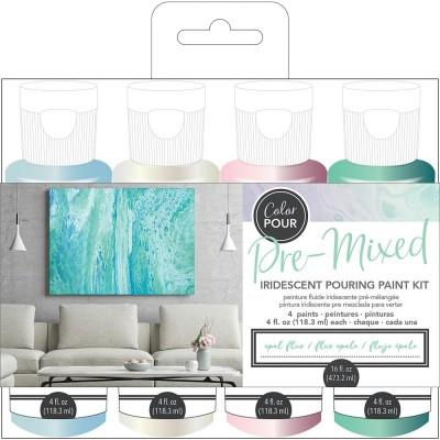 Color Pour - Kit de peintures pré-mélangées - Opal Flux
