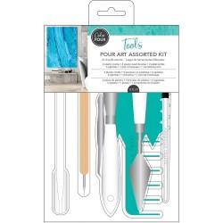 Color Pour - Kit d'outils assortis