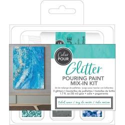 Color Pour - Kit de mélange de paillettes - Tidal Wave