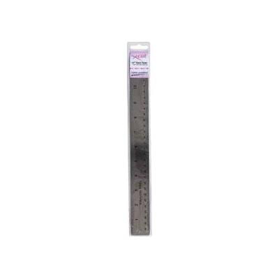 Réglet métal (cm et pouces)