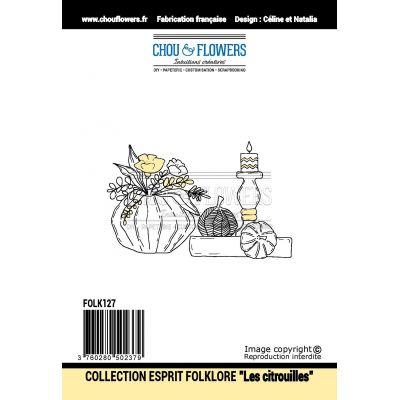 Tampons Chou & Flowers - Esprit Folklore - Les Citrouilles