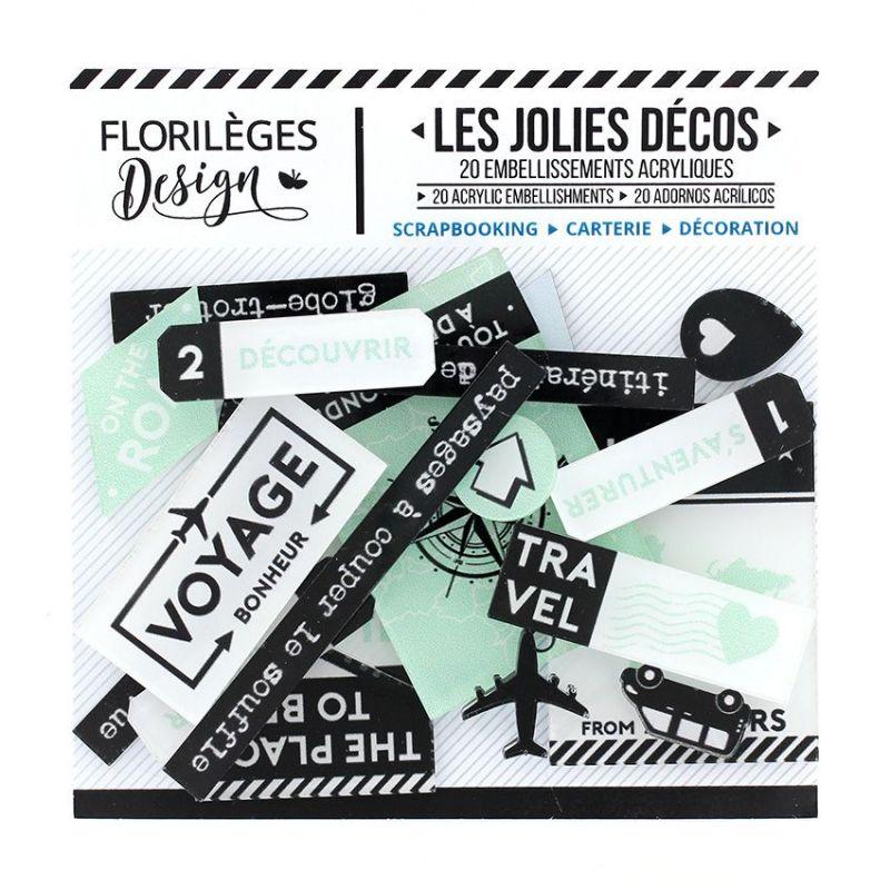 Les Jolies Décos Florilèges - Invitation au voyage