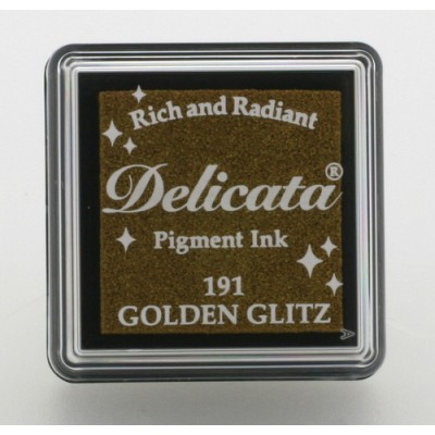 Mini encreur Delicata - Golden Glitz