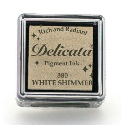 Mini encreur Delicata - White Shimmer