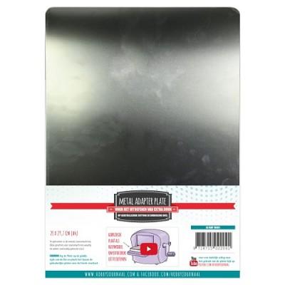 Plaque métal adaptateur A4