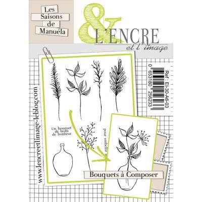Tampons L'Encre & l'Image - Les Saisons de Manuela - Bouquets à composer