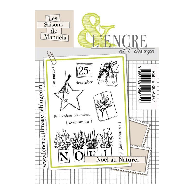 Tampons L'Encre & l'Image - Les Saisons de Manuela - Noël au naturel