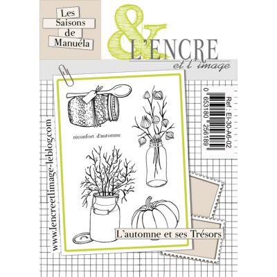 Tampons L'Encre & l'Image - Les Saisons de Manuela - L'automne et ses trésors
