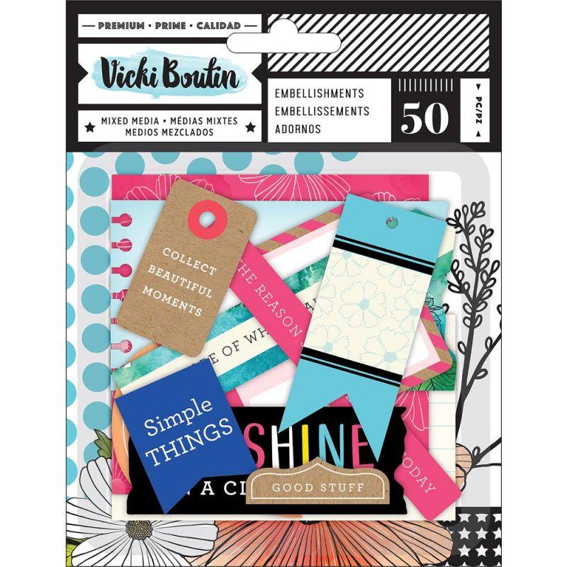 Die-cuts Ephemeras Vicky Boutin - Journaling