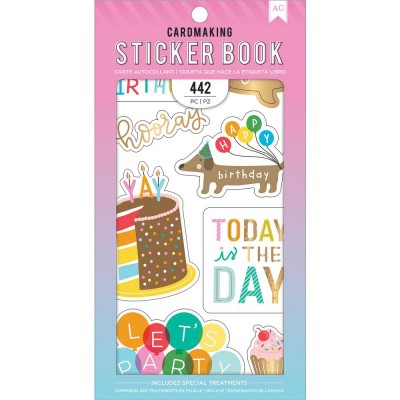 Pack de stickers AC - Cardmaking - Happy Hooray (25 feuilles)