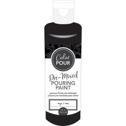 Color Pour - Peinture pré-mélangée - Onyx (noir)