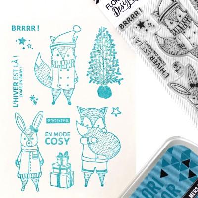 Tampons transparents Florilèges - Comme On Baby