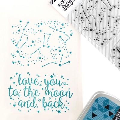 Tampons transparents Florilèges - Dans les étoiles