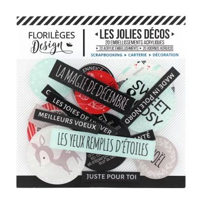 Les Jolies Décos Florilèges - Sweet And Cosy