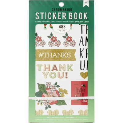 Pack de stickers AC - Cardmaking - Lots Of Thanks (30 feuilles)