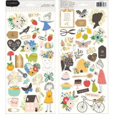 Stickers cartonnés Jen Hadfield Along The Way - Icônes