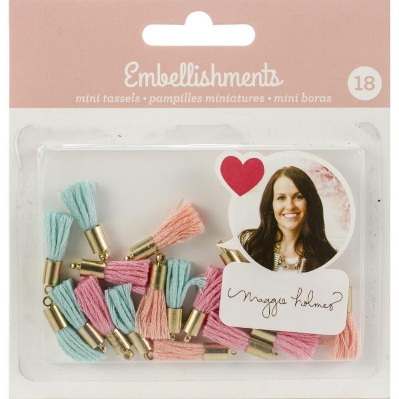 18 Mini Pompons Maggie Holmes