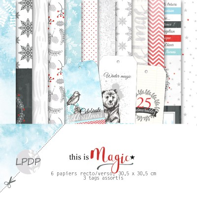 Pack 30x30 - Les papiers de Pandore - This is Magic